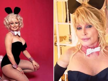 Dolly Parton torna coniglietta di Playboy per i 75 anni del marito Carl – VIDEO