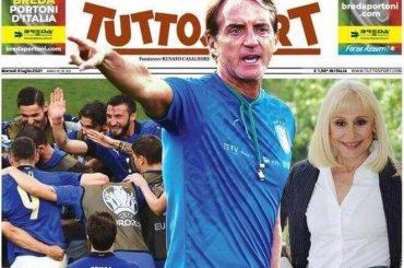 """Raffaella Carrà, """"A far l'amore comincia tu"""" risuonerà dentro Wembley prima della partita Italia – Spagna"""