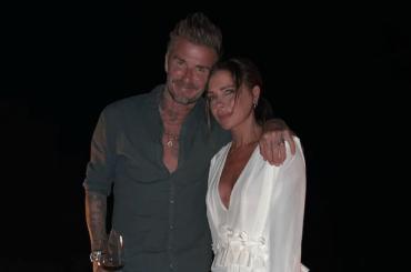 David Beckham in costume, Victoria condivide una sua fetta di chiappa – la foto social