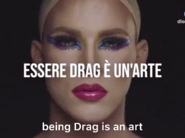 Drag Race Italia, il primo spot Discovery Plus – video