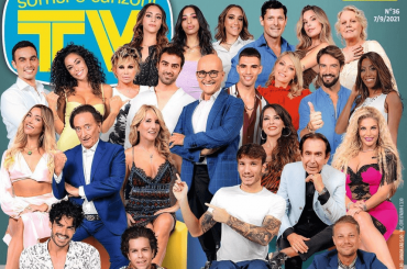 GF Vip 6, ecco tutti i concorrenti sulla copertina di Tv Sorrisi e Canzoni