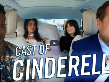 Carpool Karaoke formato Cenerentola con Camila Cabello, Billy Porter e Idina Menzel
