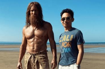 Patrick Wilson, fisico da urlo sul set di Aquaman 2