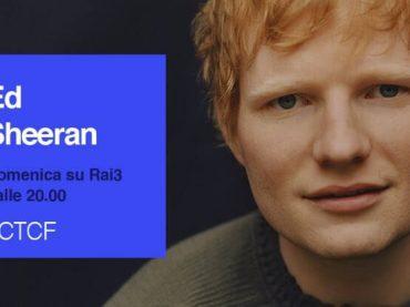 Ed Sheeran ospite di Fabio Fazio a Che Tempo che Fa