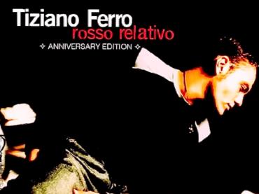 Rosso Relativo compie 20 anni, Tiziano Ferro lo celebra con una riedizione