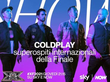 X Factor 2021, i Coldplay superositi della finale italiana