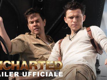 Uncharted con Tom Holland e Mark Wahlberg, il trailer italiano